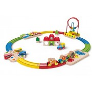 Hape-Rainbow Route Railway & Station Set