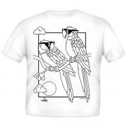 Just Add A Color Majica Cool Parrots 768