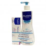 Mustela Detergente Delicato Corpo e Capelli 500 ml, in omaggio Pasta Cambio 50 ml