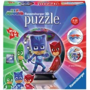Puzzle 3D Eroi In Pijamale Motiv 1 Ravensburger