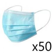 TS Santé 50 Masques chirurgicaux Norme CE / Norme EN14683 / AC2019