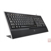 Logitech Illuminated Keyboard K740, Black, USB