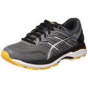 ASICS Men's Gt-2000 5 Carbon/Black/Gold Fusion Running Shoes - 11 UK/India (46.5 EU)(12 US)