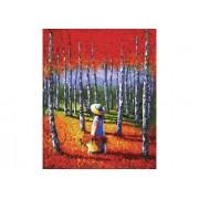 Paintboy Картина по номерам Теплый лес