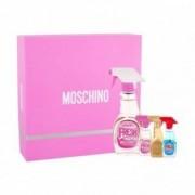Moschino Cofanetto regalo Fresh Couture Pink Eau de toilette donna 50ml + miniature edt