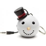 Boxa Portabila KitSound MyDoodle Characters Snowman, Jack 3.5mm (Alb)