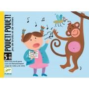 DJECO Gra w kalambury dla dzieci z kartami - można krzyczeń i naśladować, Pouet! Pouet!, DJ05152