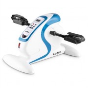 Klarfit Cycloony MiniBike Arm & Leg Trainer Exerciser Motor 120kg Remote White / Blue
