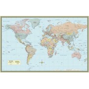 World Map-Laminated/Mapping Specialists