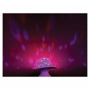 Lampara Moonlight Mushroom Hongo Uncle Milton Original Mesa-Multicolor