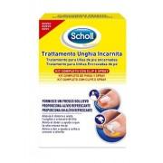 Scholl Kit Trattamento Unghia Incarnita Contenente Spray Nebulizzatore Rinfrescante 22 Ml, Colla Per Unghie 8 G, 10 Clip Raddrizza Unghia
