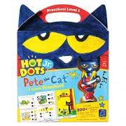 Educational Insights Hot Dots Jr Pete The Cat I Love Preschool! Set With Pete Pen (2451)