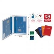Arda Custodia Porta Carte Di Credito Con Protezione Anti Magnetica E Furto Dati Colori Assortiti