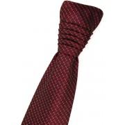 Svatební kravata vínově červená kostkovaná Avantgard 577-060805