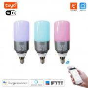 Inteligentná WiFi RGB Žiarovka Tuya Smart Life E14 Sviečka
