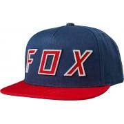 Fox Posessed Snapback Sombrero Azul un tamaño