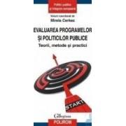 Evaluarea programelor si politicilor publice - Mirela Cerkez