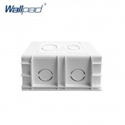 Wallpad 118*72 MM Cassette, AU US Standaard Universele Wit Wandmontage Box voor Wall Switch en Socket Back Box