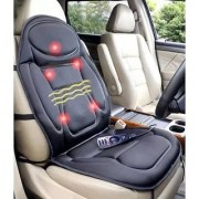 Unique Cartz CUSHION MASSAGE Seat Topper Massager with Lumbar Support Massage Heat for Chair Car