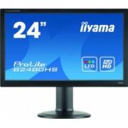 Monitor Refurbished LED iiYama ProLite B2480HS 24 Inch Full HD VGA DVI HDMI