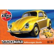 KIT CONSTRUCTIE QUICK BUILD VW BEETLE YELLOW - AIRFIX (AFJ6023)