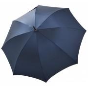 Bugatti Umbrelă pentru bărbați cu glugă Buddy Long 714363003BU albastru