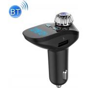 G95 Mini Draadloze Bluetooth Fm-zender Mp3-speler Carkit Oplader, met Handsfree, Muziekspeler, USB-oplaadpoort, A2DP-functie, Ondersteuning TF-kaart & U-schijf