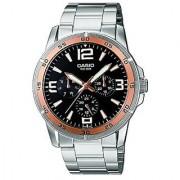 Casio Enticer Black Dial Mens Watch - Mtp-1299D-1Avdf (A479)