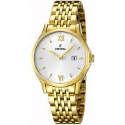 Reloj F16749/2 Dorado Festina Mujer Acero Moda Festina