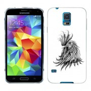 Husa Samsung Galaxy S5 Mini G800F Silicon Gel Tpu Model Cocos Abstract