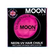 Vegaoo Rosa UV-färgkräm för hårslinga från Moonglow© 3,5 g One-size