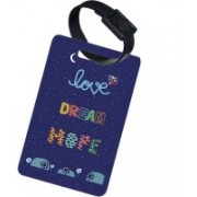 The Crazy Me LOVE DREAM HOPE Luggage Tag(Multicolor)