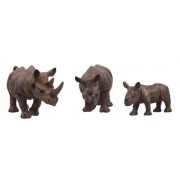 Jysk Partivarer Noshörning i plast - i 3 olika storlekar