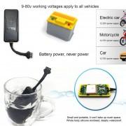 EB Vehículo Motocicleta GPS Localizador De Vehículos Impermeable Ya Prueba De Polvo-black