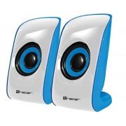 Boxe Tracer Chronos, 2.0, USB, 6W (Alb/Albastru)