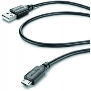 Interphone Cable de carga de datos- Negro un tamaño