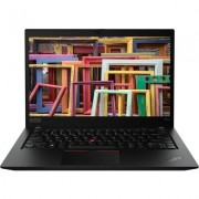 "Лаптоп Lenovo ThinkPad T490s - 14"" FHD IPS, Intel Core i7-8565U, LTE"