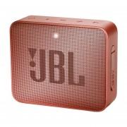 Bocina De Bolsillo JBL GO 2 Acabado Metal Color Canela