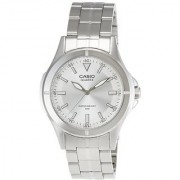 Casio Enticer Analog Silver Dial Mens Watch - Mtp-1214A-7Avdf (A344)