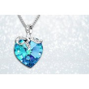 Heart Pendant made with Crystals from Swarovski®