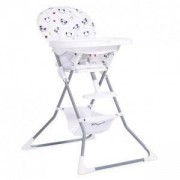 Детско столче за хранене Panda, Cangaroo, бяло, 356166