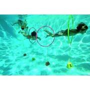 Víz alatti szlalom függőlegesen álló karika 4db