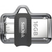 SanDisk Ultra Dual SDDD3-016G-I35 16 GB OTG Drive(Black, Type A to Micro USB)