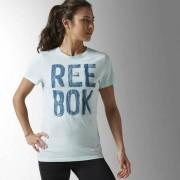 Reebok Женщины- Футболка Split Reebok