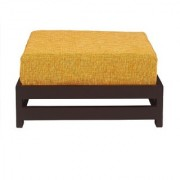 BM Wood furniture Contemporary Low Stool ( Black)
