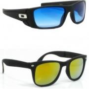 Hrinkar Sports Sunglasses(Clear, Pink)