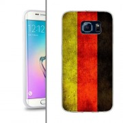 Husa Samsung Galaxy S6 Edge G925 Silicon Gel Tpu Model Germany Flag