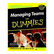 Managing Teams For Dummies (Brounstein Marty)(Paperback) (9780764554087)