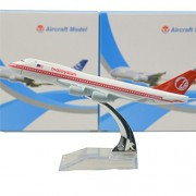 Malaysia Boeing 747 200 Red 16cm Metal Airplane Models Child Birthday Gift Plane Models Home Decoration