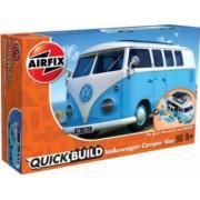Kit constructie Airfix QUICK BUILD VW Camper Van blue